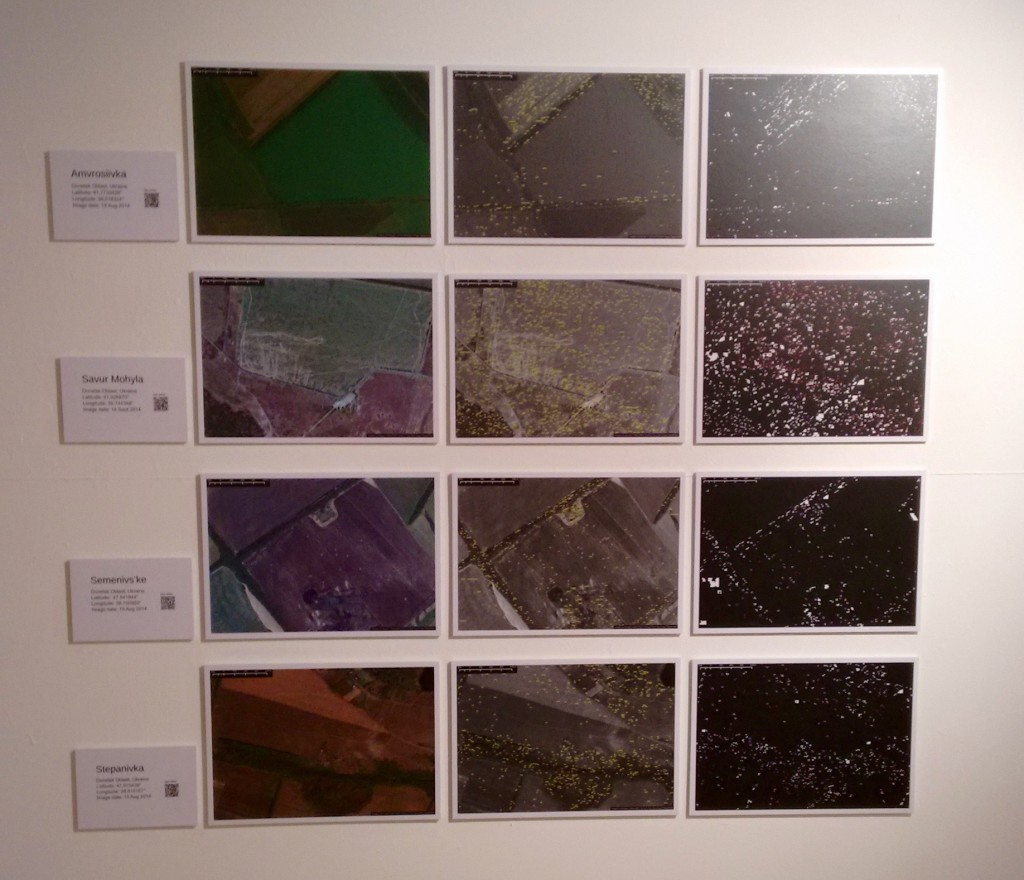 Photograph showing Rudiment's exhibit at Notes from Technotopia.
